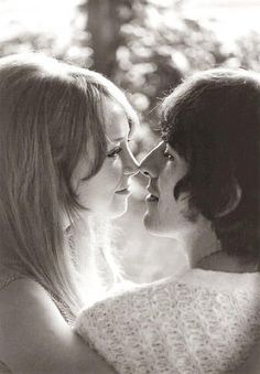 George and Pattie.
