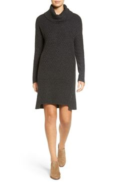 Free shipping and returns on Treasure&Bond Turtleneck Sweater Dress at Nordstrom.com. A subtle diamond pattern textures a cotton-blend sweater-dress styled with an ultra-cozy turtleneck, dropped shoulders and ribbed insets for added dimension.When you buy Treasure&Bond, Nordstrom will donate 2.5% of net sales to organizations that work to empower youth.