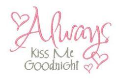 All Designs :: Kiss Me Goodnight