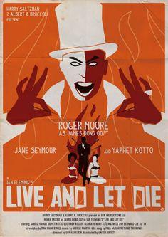 Bond - Live and Let Die (Artist: Alain Bossuyt)