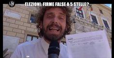 LE IENE ACCUSANO I 5 STELLE: FIRME FALSE ALLE ELEZIONI COMUNALI DI PALERMO 2012?