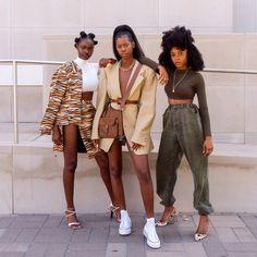 Black Girl Fashion, Look Fashion, Fashion Outfits, Black Girl Magic, Black Girls, Black Girl Swag, Afro, Black Girl Aesthetic, Beautiful Black Girl
