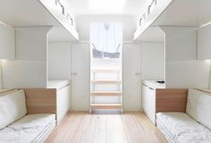 Ideas and solutions for boats are great for compact living! B60 by Luca Brenta Yacht Design, Featured on sharedesign.com.