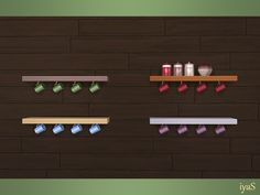 Functional shelf with four small cups. Part of Bon Appetit set. Found in TSR Category 'Sims 4 Miscellaneous Surfaces' Sims 4 Kitchen, Find Furniture, Sims 4 Custom Content, Wine Rack, Objects, Shelves, Display, Cups, Ts4 Cc