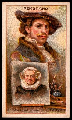 Cigarette Card - Rembrandt by cigcardpix, via Flickr