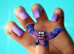 Monsters University - Art Nails :)