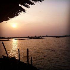 Sunset near jakarta