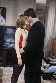 Jennifer Aniston Friends. Rachel & Ross