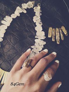 Holiday jewelry at www.84gem.com #handmade #jewelry #accessories