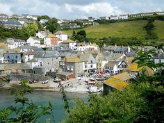 Small village in Devon where Doc Martin was filmed!