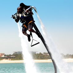 Jetskis and paragliders? How passé: get a Water Jet Pack!
