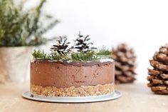 Voilà le dessert que j'ai préparé pour mon repas de Noël cette année : un layer…