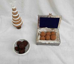 Coisas simples são a receita ...: Trufas sem açúcar de chocolate