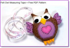 Owl...free pattern and instructions!