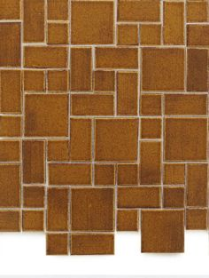 Inspired by Frank Lloyd Wright and influenced by his Prairie style, Craftsman Squares celebrate horizontal lines and landscape-inspired color palettes. Craftsman Tile, Lloyd Wright, Tiling, Color Palettes, Contemporary, Modern, Mosaics, Mercury, Squares