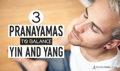 The autonomous nervous system controls our stress levels, how we deal with problems, and our quality life. Learn how to balance ANS with these pranayamas. Breathing Meditation, Yoga Meditation, Pranayama, Yin Yang, Become A Yoga Instructor, Ayurveda Yoga, Dynamic Stretching, Yoga Poses For Beginners, Yoga Benefits
