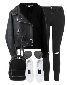 """Sem título #1291"" by oh-its-anna ❤ liked on Polyvore featuring Topshop, IRO, Acne Studios, STELLA McCARTNEY, Pierre Hardy and Michael Kors"