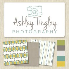 I just finished this logo and brand design for Ashley Tingley #photographylogo #logodesign #branding
