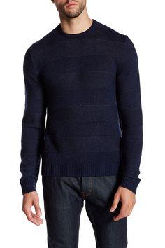 Marl Striped Sweater
