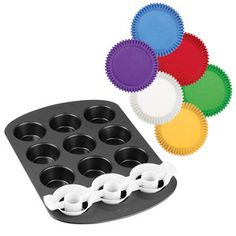 Two-Tone Cupcake Baking Set