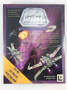 Star Wars: X-Wing Collector's CD-ROM Video Game PC 1994 Sealed Big Box New