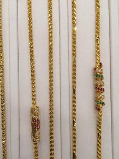 Gold Chain Design, Gold Ring Designs, Gold Bangles Design, Gold Earrings Designs, Gold Jewellery Design, Gold Jewelry Simple, Golden Jewelry, Gold Mangalsutra Designs, Beaded Jewelry