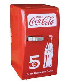Coca-Cola Retro Fridge | zulily