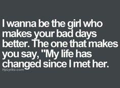 I try so hard to make ur bad days better