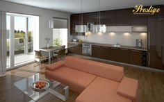 Best interior furnishing Dining room and kitchens #Prestige Interiors hyderbad http://www.prestigeinteriors.in/