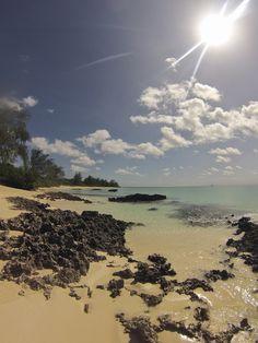 Sun drenched beach, Vamizi Island, Mozambique