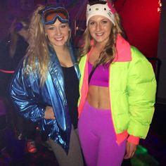 80's in Aspen TG! (halloween college alien)