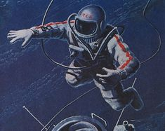 Space Painting Astronaut (page 2) - Pics about space
