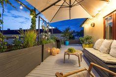 FINN – TOPPLEILIGHET PÅ ST.HANSHAUGEN - Unik 2-roms med privat, solrik takterrasse på 54m2 - En leilighet som må sees!