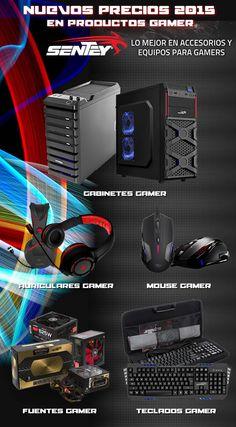 #Sentey #Gabinetes #Auriculares #Mouse #Teclados y #Fuentes #Gamer Entrá a www.gvinformatica.com.ar y llevátelos. 