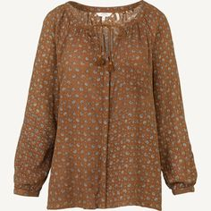 Carly Scatter Floral Blouse at Fat Face