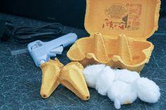 Egg Carton Ice Cream Cones - In The Playroom