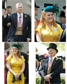 The Duke & Duchess of York at Royal Ascot, Ascot Racecourse, Friday 21 June 2019 . Duchess Of York, Duke Of York, Duke And Duchess, Sarah Ferguson Prince Andrew, 21 June, Royal Ascot, Queen Elizabeth Ii, Royal Families, British Royals