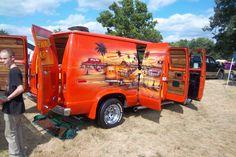 70s Van Murals | Car Show Classic: The Highway Star – The Most '70s Van I've Ever ...