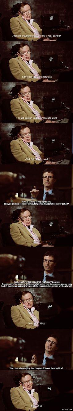 Stephen Hawking is a f**king savage - 9GAG