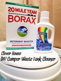 Clover House: DIY Camper Waste Tank Cleaner