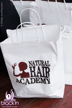 WE WERE IN THE NATURAL HAIR ACADEMY!
