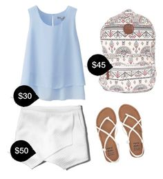 """""""My First Polyvore Outfit"""" by elydos ❤ liked on Polyvore featuring Uniqlo, Abercrombie & Fitch and Billabong"""