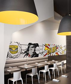 NUDO restaurant by HDG architects, Spokane Washington restaurant