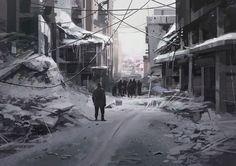 ArtStation - Winter , Faraz Shanyar
