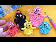 Tutorial boys Barbapapa elastic: Barbidou, or Barbabright Barbidur Rainbow Loom