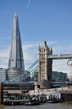 Un gigante en el nuevo horizonte de Londres (Shard London Bridge)