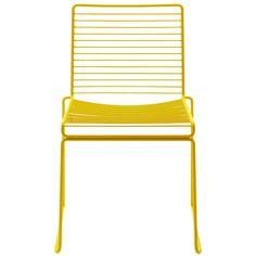 Hay & Hee Welling's Stackable Hee Dining Chair. Sometimes the biggest enhancements involve the smallest tweaks. Powder-coated, this a chair that can be used indoors and outdoors.