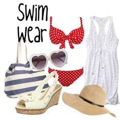 """Pin Up: Swim Wear"" by loveandpixiedust on Polyvore"