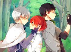 Zen Wistalia, Shirayuki & Obi