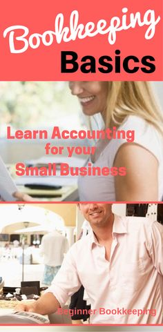 Bookkeeping basics - steps and procedures for your small business.